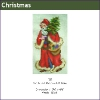 537 - Santa with Red Coat & Tree