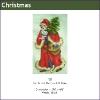 537 - Santa with Red Coat & Tree