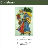 539 - Santa with Blue Coat & Tree