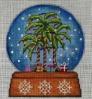 GE630 - Palm Tree Snow Globe