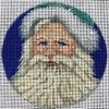 GE655 - Vintage Santa Ornament