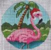 GE662 - Pink Flamingo Ornament
