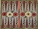 GEP344 – Floral Animal Print Backgammon Board