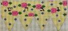 GEJ03 - Pink Roses Dreidel