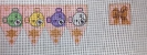 GEJ05 - Teddy Bears Dreidel (pink)