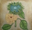 GEP200 - Green & Yellow Sunflower