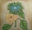 GEP200 - Green & Yellow Sunflower