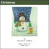 548 - Snowman Mini-stocking
