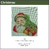 563 - Victorian Santa Mini-stocking
