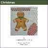 564 - Gingerbread Mini-stocking