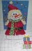 GE643 - Santa Snowman Stocking