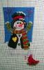 GE644 - Woodland snowman/small stocking