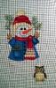 GE646 - Woodland Snowman/Owl stocking