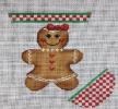 GE654 - Gingerbread Mini Sock