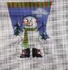 GE666 - Snowman/Snowboots Mini Sock