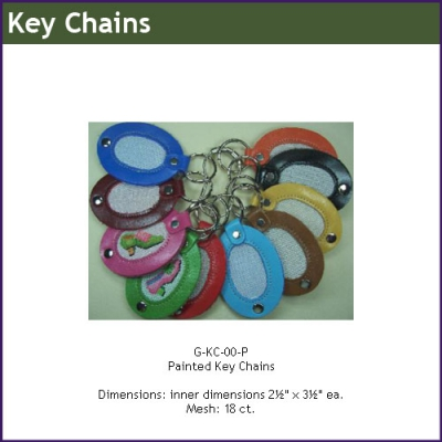 G-KC00-P - Painted Key Chains